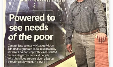 A Cause Worth Seeing: The Maxvue Vision Way